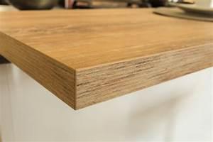 Arbeitsplatten aus glas holz naturstein oder schichtstoff for Holz arbeitsplatte
