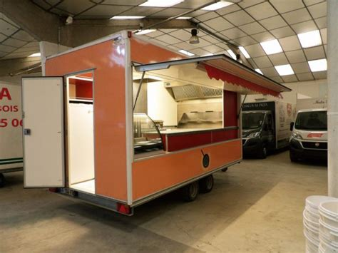 remorque cuisine occasion occasions hedimag fabricant de commerce mobile