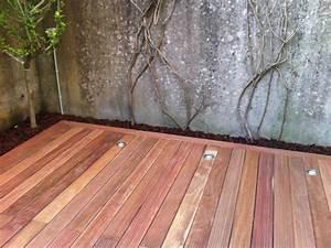 Eclairage Piscine Bois : eclairage terrasse bois eclairage terrasse bois castorama ~ Edinachiropracticcenter.com Idées de Décoration