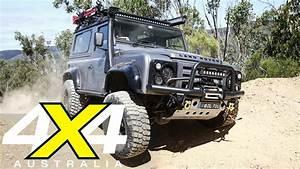 4x4 Land Rover : modified land rover defender 90 custom 4x4 4x4 australia youtube ~ Medecine-chirurgie-esthetiques.com Avis de Voitures