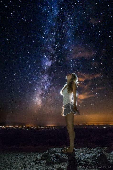 Seeing The Galaxy Starry Night Pinterest