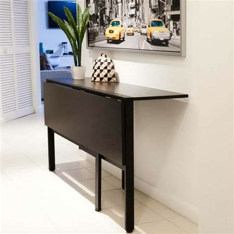 table de cuisine retractable la table de cuisine pliante 50 idées pour sauver d