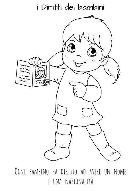 immagini bambini felici da colorare disegni da colorare sui diritti dei bambini le news di