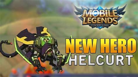 Experimentamos Novo Personagem Helcurt