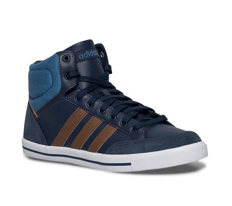basket montante adidas cuir bleue homme baskets tennis chaussures homme