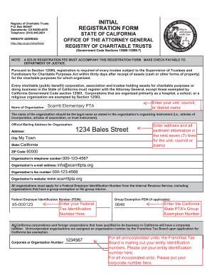 instructions initial registration ct  fill