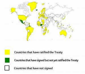 The USA signs Arms Trade Treaty and advances towards its ...