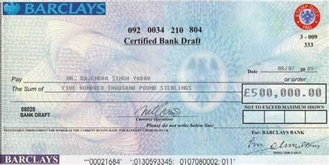 barclays bank draft draft  original    send
