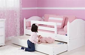 Double, Trundle, Bed, For, Kids, U0026, 39, Bedroom, U2013, Homesfeed