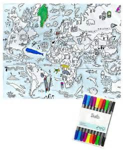 Carte Du Monde A Colorier Avec Pays by Coloriages De Carte Du Monde A Coloriage Carte Du Monde
