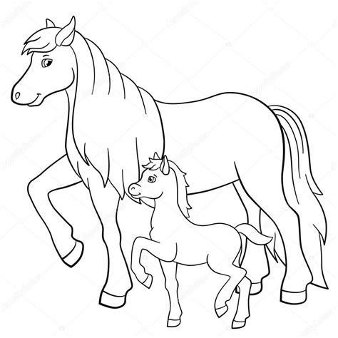 Kleurplaat paard / colorvelvet kleurplaat paard kbz kampen. Kleurplaat Van Paard Met Veulen