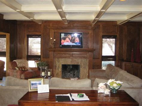 19 best images about before & after   wood paneling on