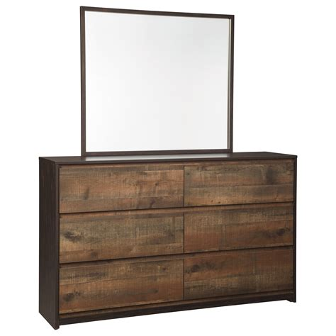 signature furniture warranty modern rustic dresser bedroom mirror by signature design by wolf and gardiner wolf