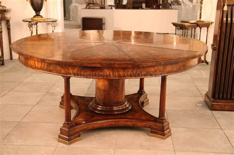 Dining Tables For Sale by 90 Mahogany Radial Dining Table With Jupe Patent