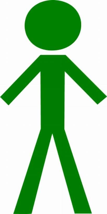 Stick Clipart Figure Clip Person Male Boy