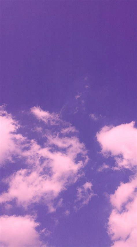 aesthetic purple cloud wallpapers