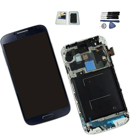 for samsung galaxy s4 i337 m919 lcd digitizer screen replacement repair darkblue ebay