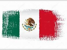 Brushstroke flag Mexico — Stock Vector © robodread #47461321
