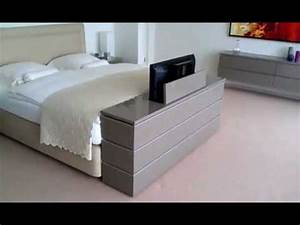 Exodio Montpellier TV Lift Meuble Litmp4 YouTube