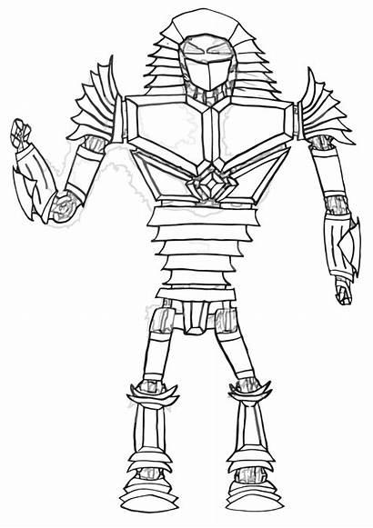 Coloring Boy Steel Noisy Drawing Realsteel Template