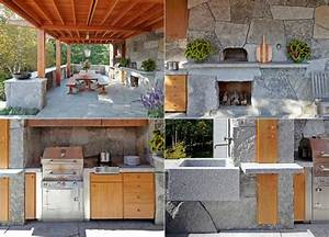 Küche Einrichten Ideen : outdoor k che einrichten kreative ideen f r k chengestaltung ~ Lizthompson.info Haus und Dekorationen