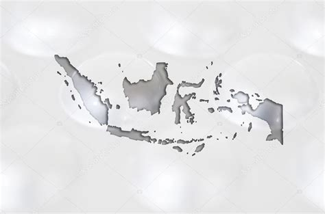 outline map  indonesia  pills   background