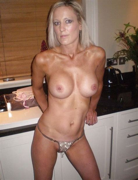 Hot Blonde Wife Shot Wearing Nothing But Thong Milf Update