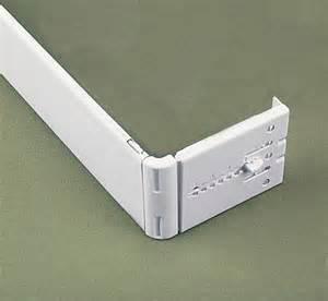 kirsch 2 1 2 inch continental valance rods bedbathhome com