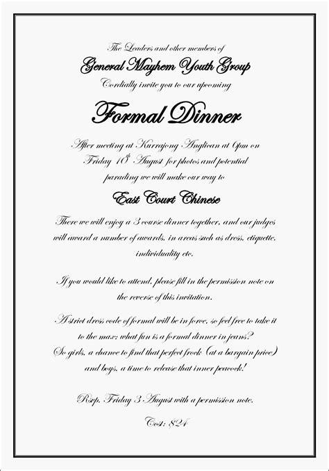 invitation letter informal jtok inspirational informal
