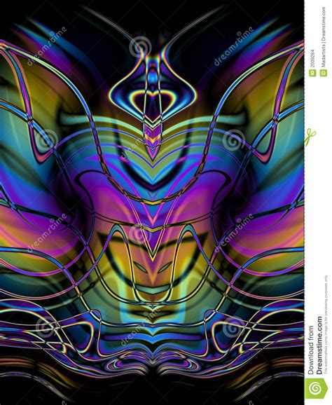 decorative abstract butterfly stock images image