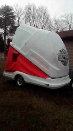 harley trailertoy carrier toy hauler motorcycle