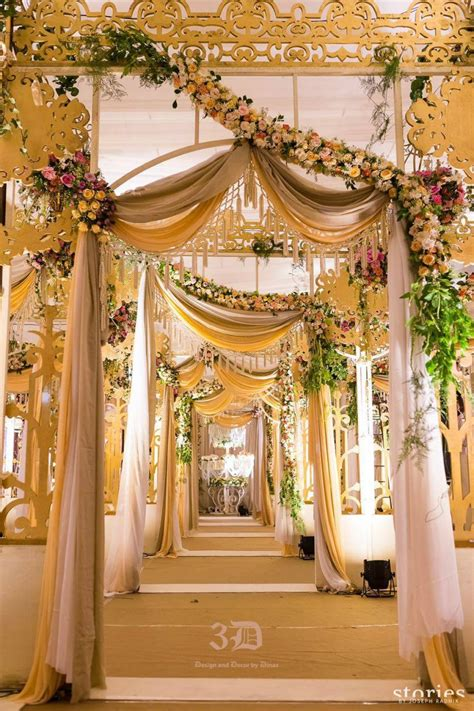 decoration for 3d design and decor by dinaz hyderabad marriage decoration indian wedding
