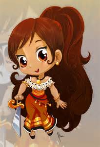 Maria From the Book of Life Fan Art