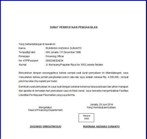 Contoh Surat Izin Sekolah Atas Nama Sendiri by 7 Contoh Surat Pernyataan Dalam Berbagai Kasus Gratis Doc