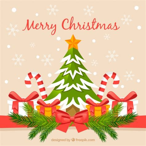 Classic Christmas Background Vector  Free Download