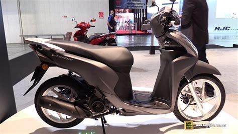honda vision 110 2017 honda vision 110 cbs scooter walkaround 2016 eicma milan
