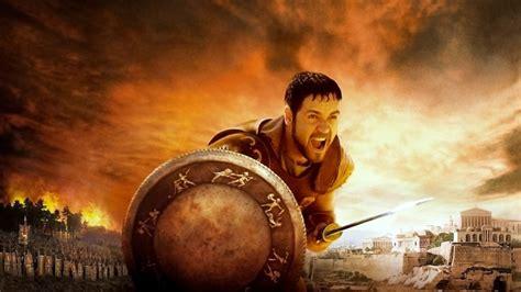 full hd wallpaper russell crowe rome shield gladiator