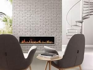 Brique De Parement Blanche : brique de parement 20 belles id es de d co murale originale ~ Nature-et-papiers.com Idées de Décoration