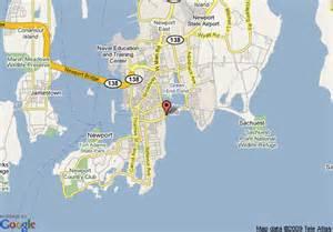 Cliff Walk Newport Rhode Island Map