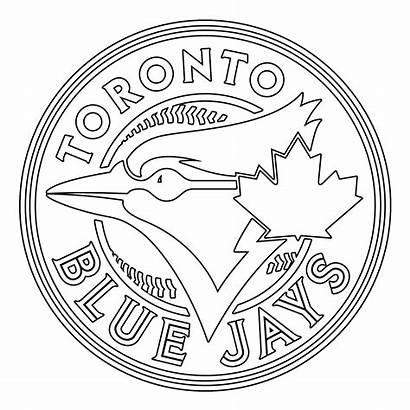 Jays Toronto Jay Coloring Baseball Transparent Svg