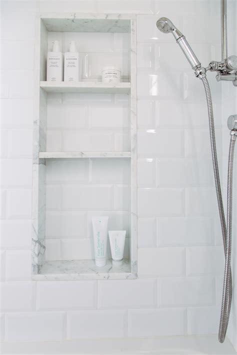 best 25 bathroom niche ideas on grey tile