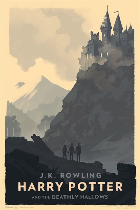 olly moss  style harry potter hogwarts posters ybmw