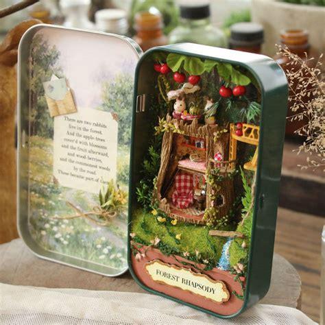 Doll House Diy Miniature 3d Wooden Puzzle Dollhouse