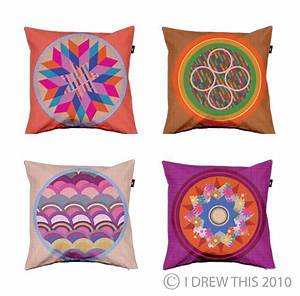 I, Drew, This, New, Cushion, Designs, At, Envelop
