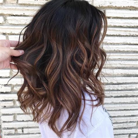 Brownish Black Hair Color by Cold Brew Hair Is Trending For Fall And Brunettes