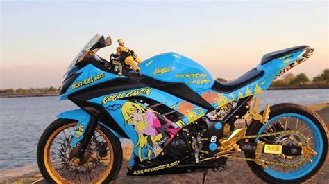 Gambar Motor R by Gambar Modifikasi Motor 250 Fi Motorcyclepict Co