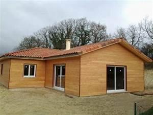 extension maison ossature bois en kit maison en bois With nice agrandir sa maison prix 5 plan et photo de maison avec etage ossature bois par