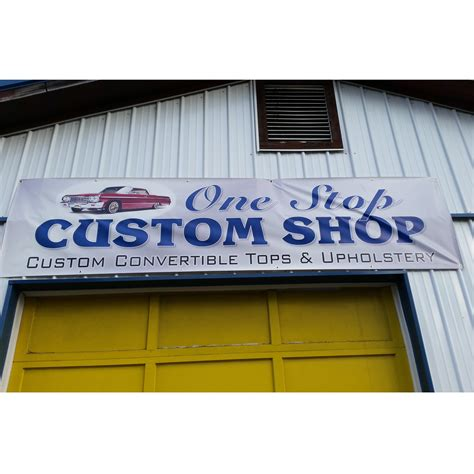 Local Upholstery Shop one stop custom shop custom convertible tops and