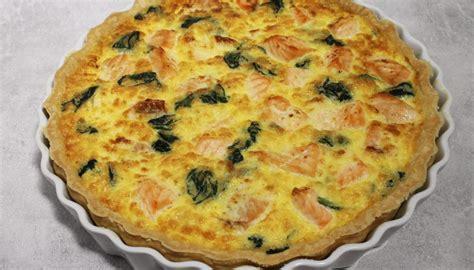 cuisiner epinard en boite recette de quiche au saumon frais et aux épinards par alain ducasse