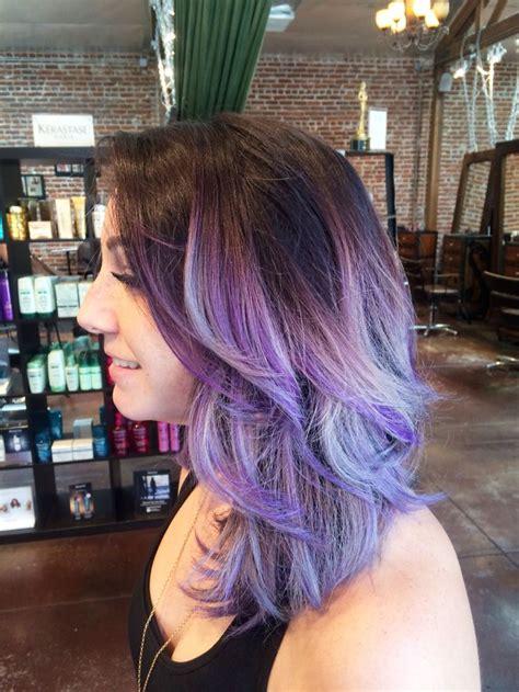 17 Best Ideas About Silver Purple Hair On Pinterest